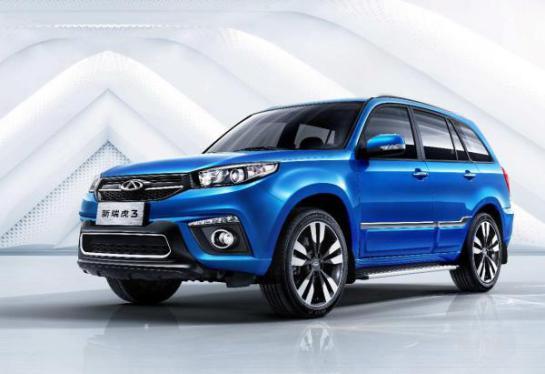 新瑞虎3宝石蓝车色车型上市 打造6-9万超值SUV新标杆3
