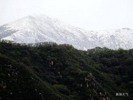 北京门头沟5月飞雪