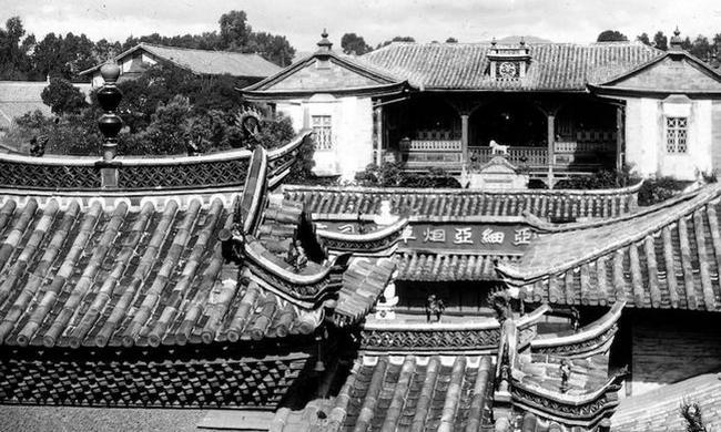老照片:1929年的云南昆明
