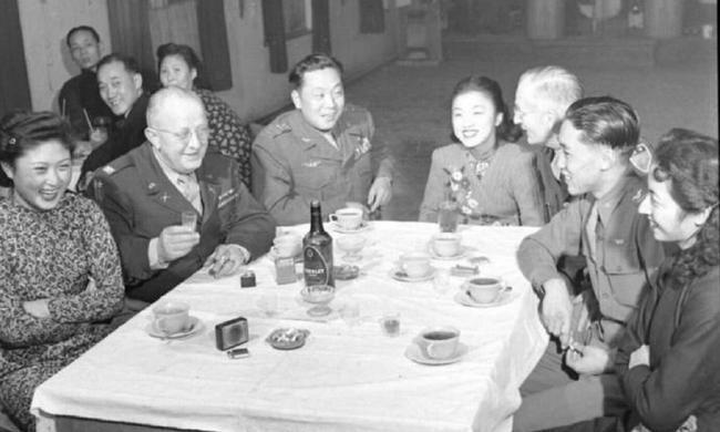 1947年,前后方都緊吃的國民黨軍