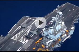 法国戴高乐号核动力航母打击群官方宣传视频欣赏