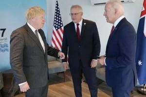 """外媒关注:美英澳联盟开启对华""""新冷战""""?"""