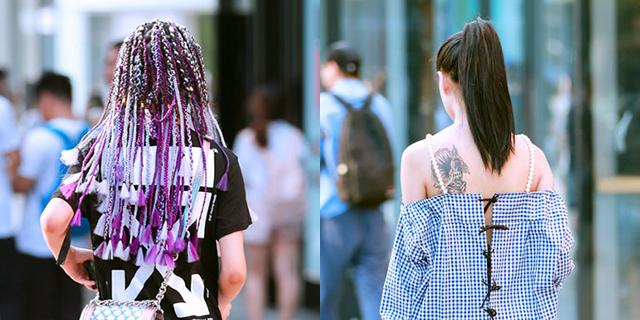 脏辫纹身,时髦就要这样玩