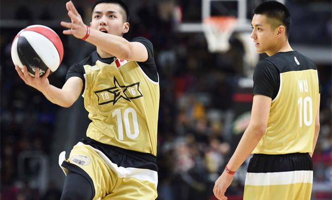 吴亦凡NBA名人赛首发出场得分 谦虚自评勉强及格