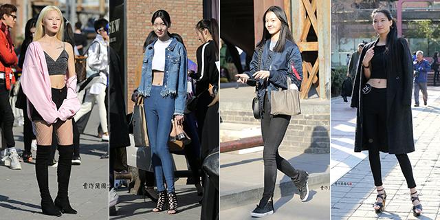 青春无敌的中国模特