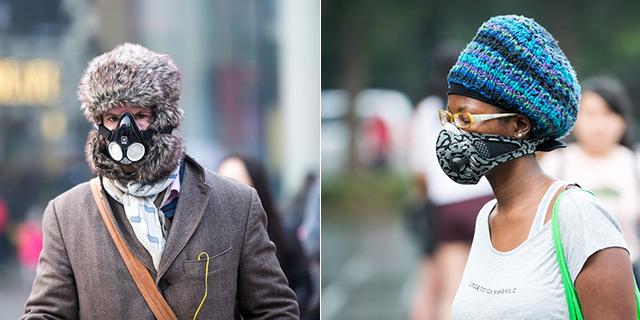 雾霾天你戴的口罩够时髦吗