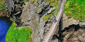 世界十大惊险桥之一