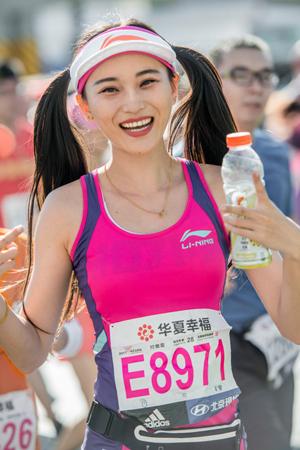 2017北京马拉松赛精彩花絮