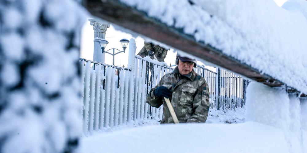 吉林又一场冬雪