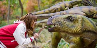 中国最大的仿真恐龙公园