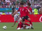 韩国足球犯规集锦