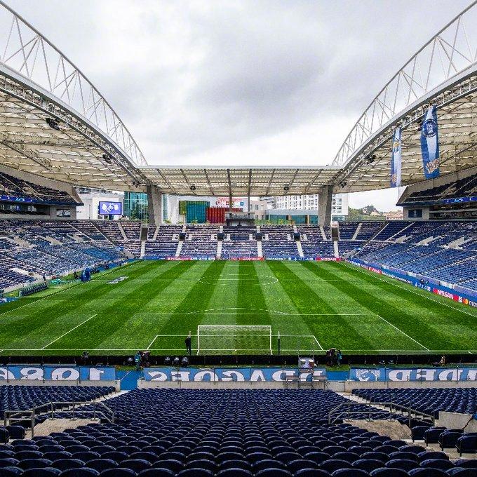 欧足联官方:欧冠决赛移师波尔图 6000名球迷入场