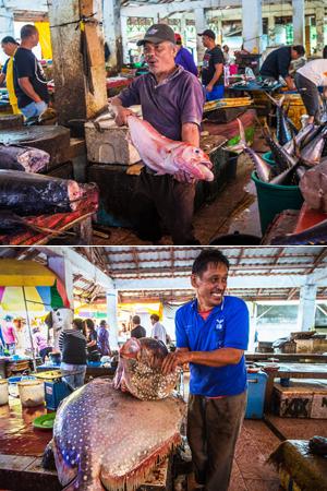 印尼这个市场只卖鱼