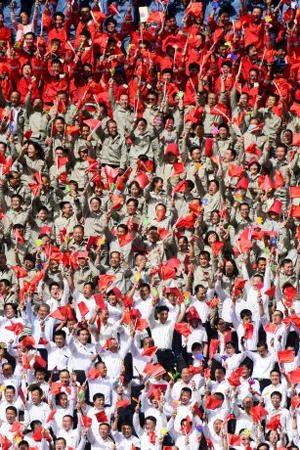 壮观!宁夏成立60周年庆祝大会