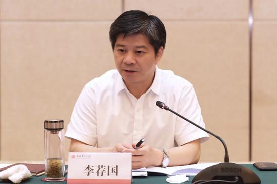 湖南省社会科学院院长李荐国接受纪律审查和监察调查图片