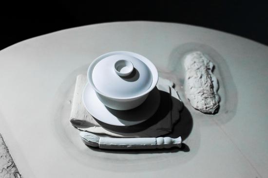 物质的关系-茶宴(局部)彭赞宾