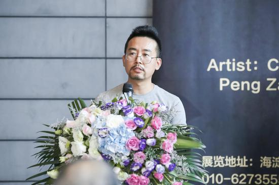 参展艺术家王京成