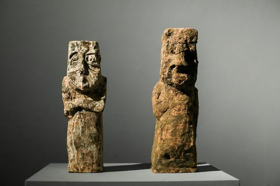 石语者之系列,陶瓷,2017,王京成