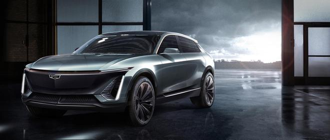 L4级自动驾驶 凯迪拉克纯电动概念SUV官图发布