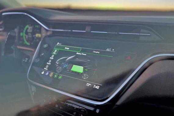 雪佛兰发布 Bolt EUV 内饰照 成首个搭载Super Cruise技术的车型