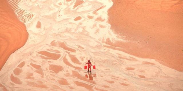 霞浦滩涂美的宛如油画