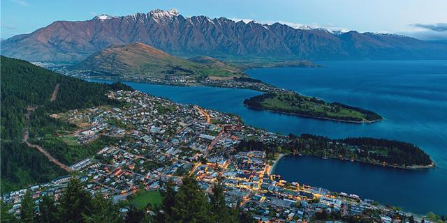 新西兰皇后镇的夜色那么美
