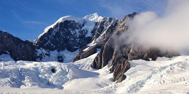 我登上了福克斯冰川