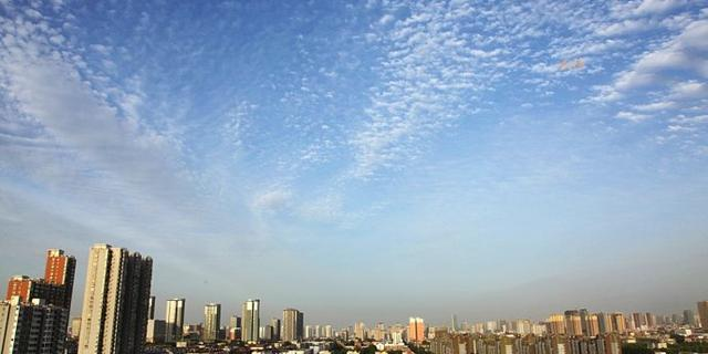 邯郸天空美丽的云
