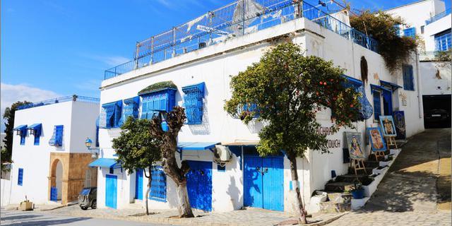 突尼斯低调浪漫的蓝白小镇