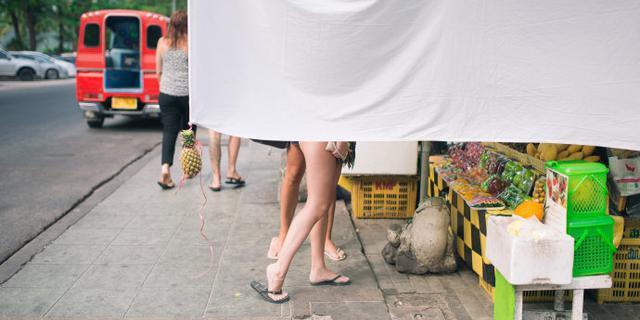 泰国街头有趣的一角