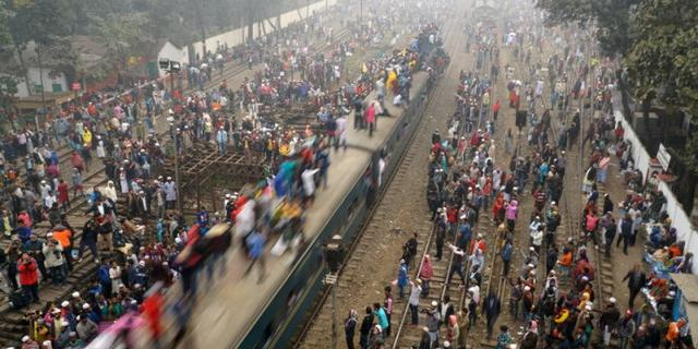 秒杀中国春运的孟加拉火车节