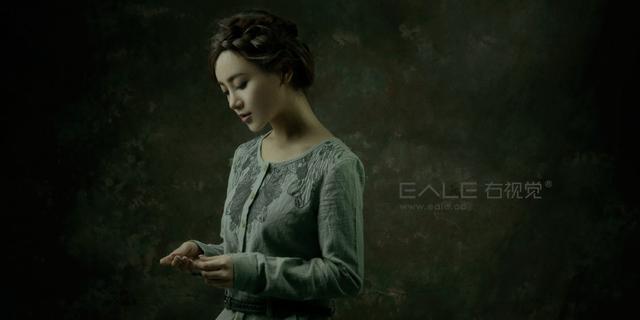 温柔婉约的古典美女