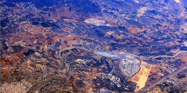 西班牙的大地美如油画