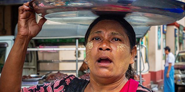 我镜头里的缅甸人像