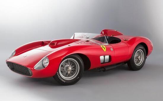 巴黎拍卖会古董级法拉利跑车卖出三千万欧元
