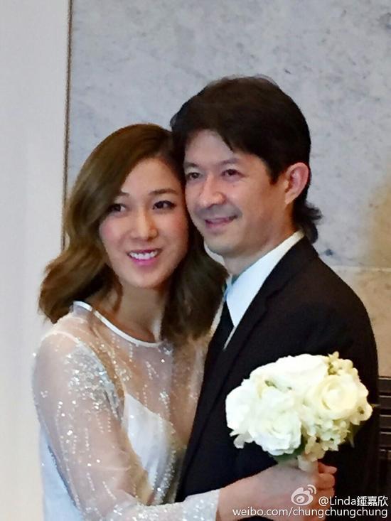 钟嘉欣和老公