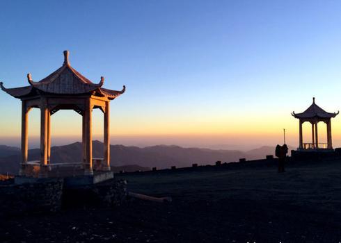 五台山山顶奇景