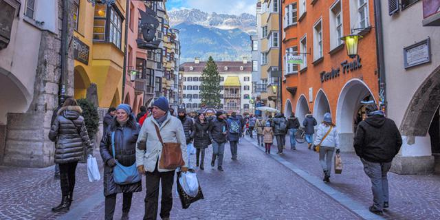 奥地利中世纪梦幻老城