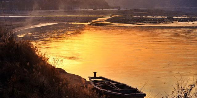 古渡西风,黄河落日