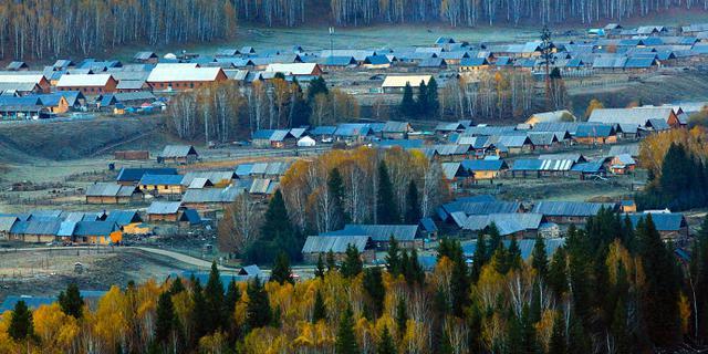 这个村庄仿佛仙境