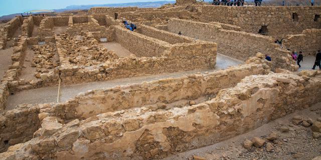 马萨达以色列犹太人圣地