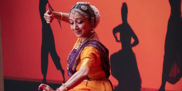 充满异域风情的印度婆罗多舞蹈
