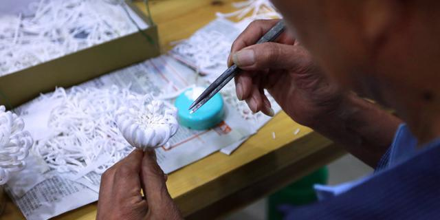 扬州486工艺坊的工匠们