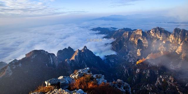 太行山的云海