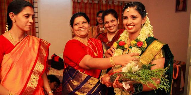 令人目瞪口呆的印度超奢华婚礼