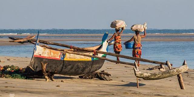 马达加斯加的渔村很迷人
