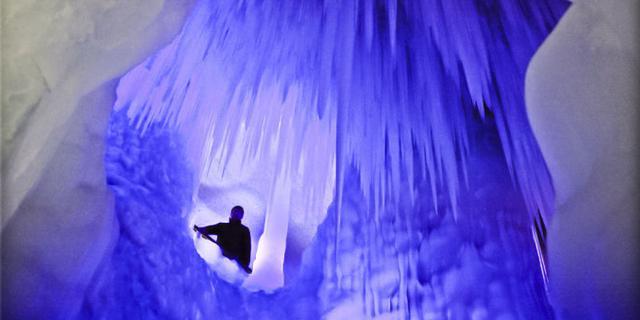 神奇!山西有个万年冰洞