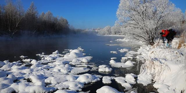 雪藏在小兴安岭里的童话冬天