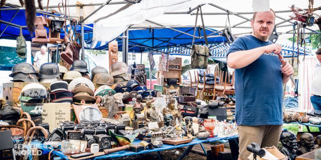 穿越750年历史圣多米尼加集市