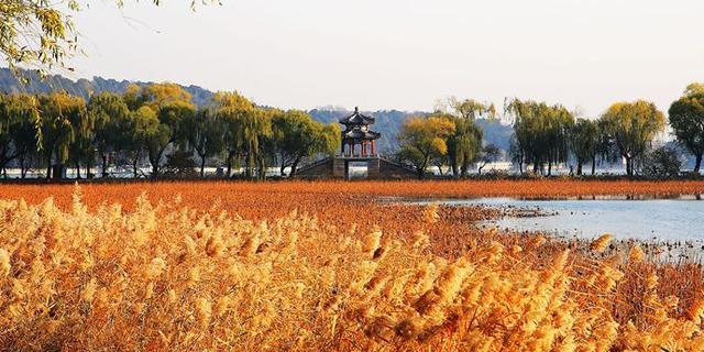 京城:初冬颐和园不输秋色